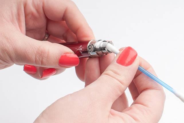 Рекомендации по уходу за электронной сигаретой