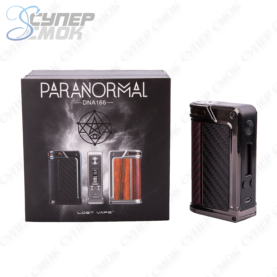 Боксмод Lost Vape Paranormal DNA166 166W TC