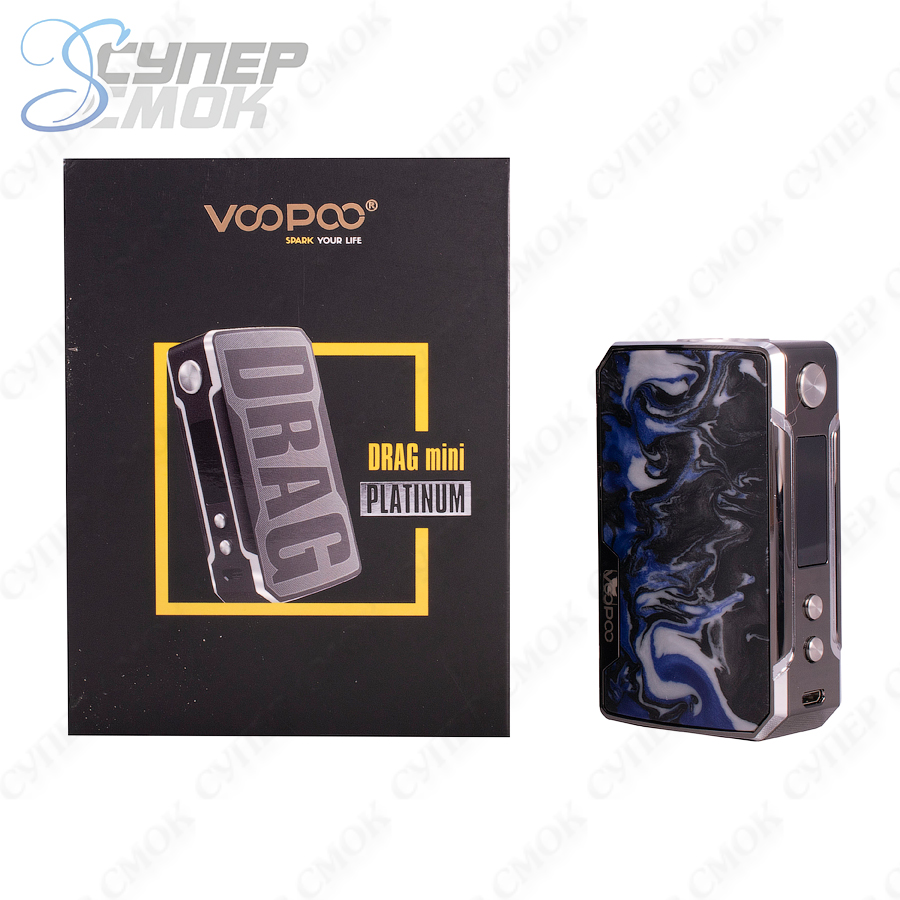 Боксмод Voopoo Drag Mini Platinum Edition 117W TC