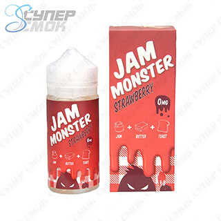 "Жидкость Jam Monster ""Strawberry"" 100 мл"